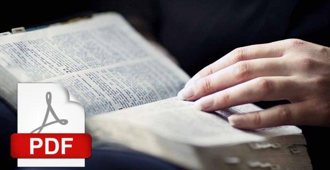 Bíblia em PDF - baixar grátis