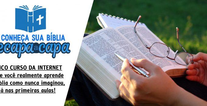 Curso Bíblico Conheça a Bíblia